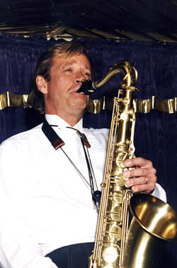Tim with Sax